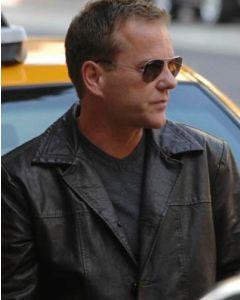 jack bauer leather coat