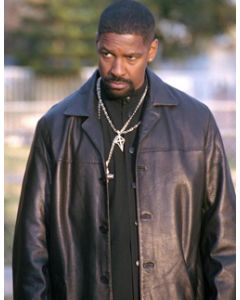 alonzo harris leather coat front