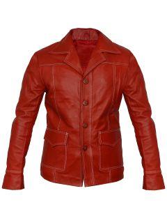 movie fight club leather jacket