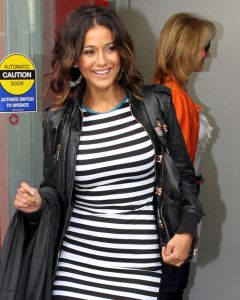 Emmanuelle Chriqui jacket front