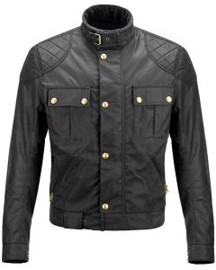 Gerard Butler Hand-made Replica Black Leather Jacket