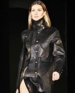 Gisele Bündchen coat front