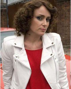 alex drake leather jacket front