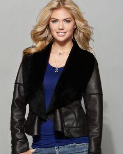 Kate Upton Macy's jacket front