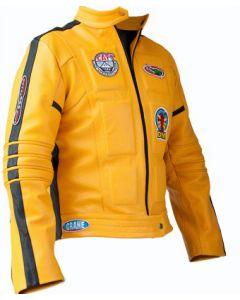 movie kill bill leather jacket front