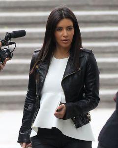 Kim Kardashian jacket front
