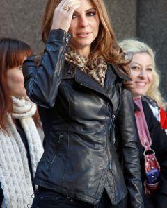 Maria Menounos jacket front