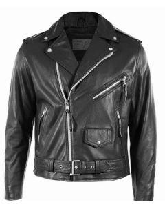 film biker boyz smoke leather jacket back side