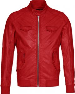 men red jacket