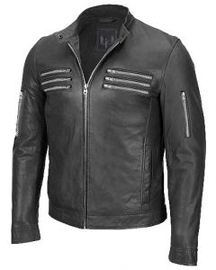 men black jacket front