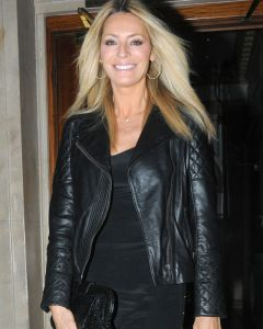 Tess Daly jacket front