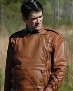 billy campbell leather jacket