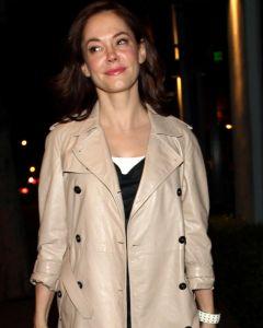 Rose McGowan coat front