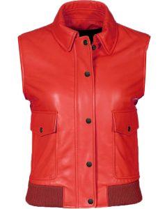 women red vest front