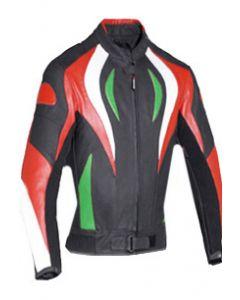 women fire style biker jacket