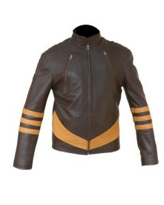x-man leather jacket